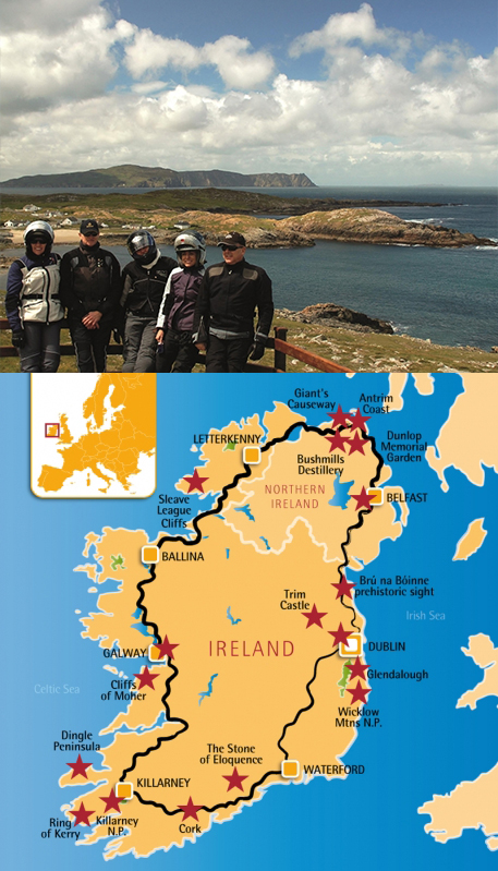 Ireland and the wild Atlantic Way