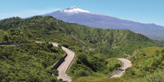 Around Mount Etna
