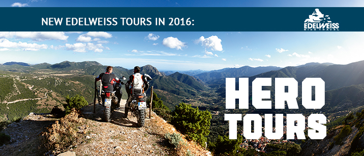 Motorcycle, Tour, Hero, Italy