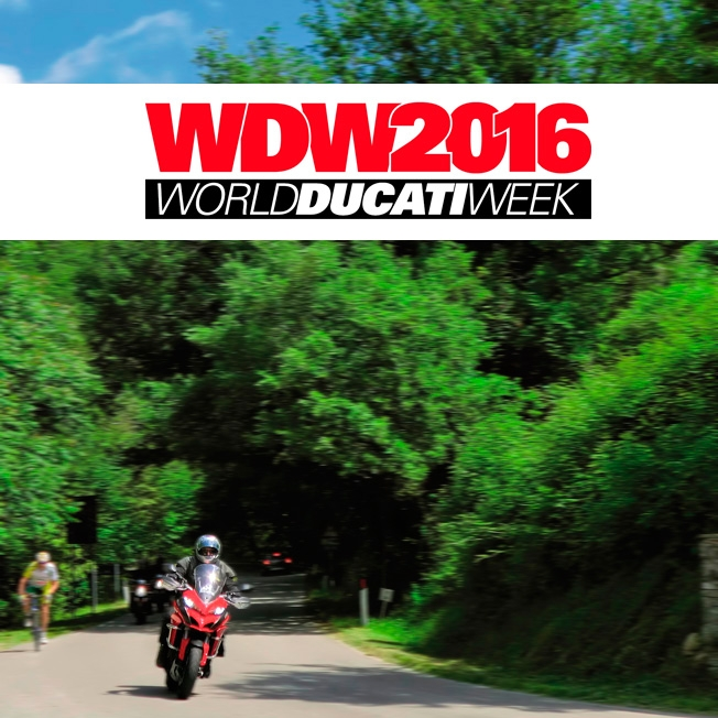 World Ducati Week Tour