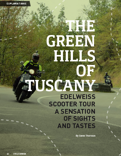 Tuscany by Scooter