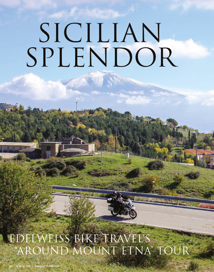 Around Mount Etna Rider Magazine